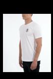 T-shirt STEDT logo men White_