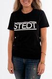 T-shirt STEDT women Black_