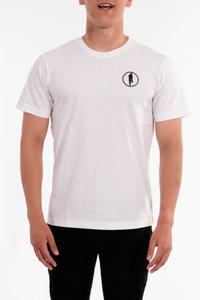 T-shirt STEDT logo men White