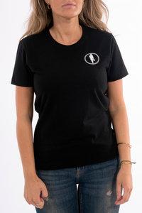 T-shirt STEDT logo women Black