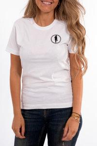 T-shirt STEDT logo women White