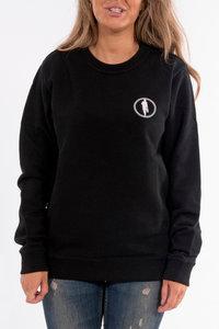 Sweater STEDT logo women Black