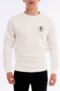 Sweater STEDT logo men Off-white