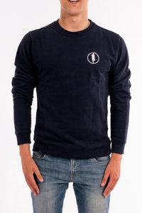 Sweater STEDT logo men Nightblue