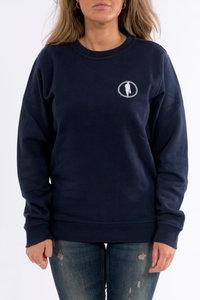 Sweater STEDT logo women Nightblue