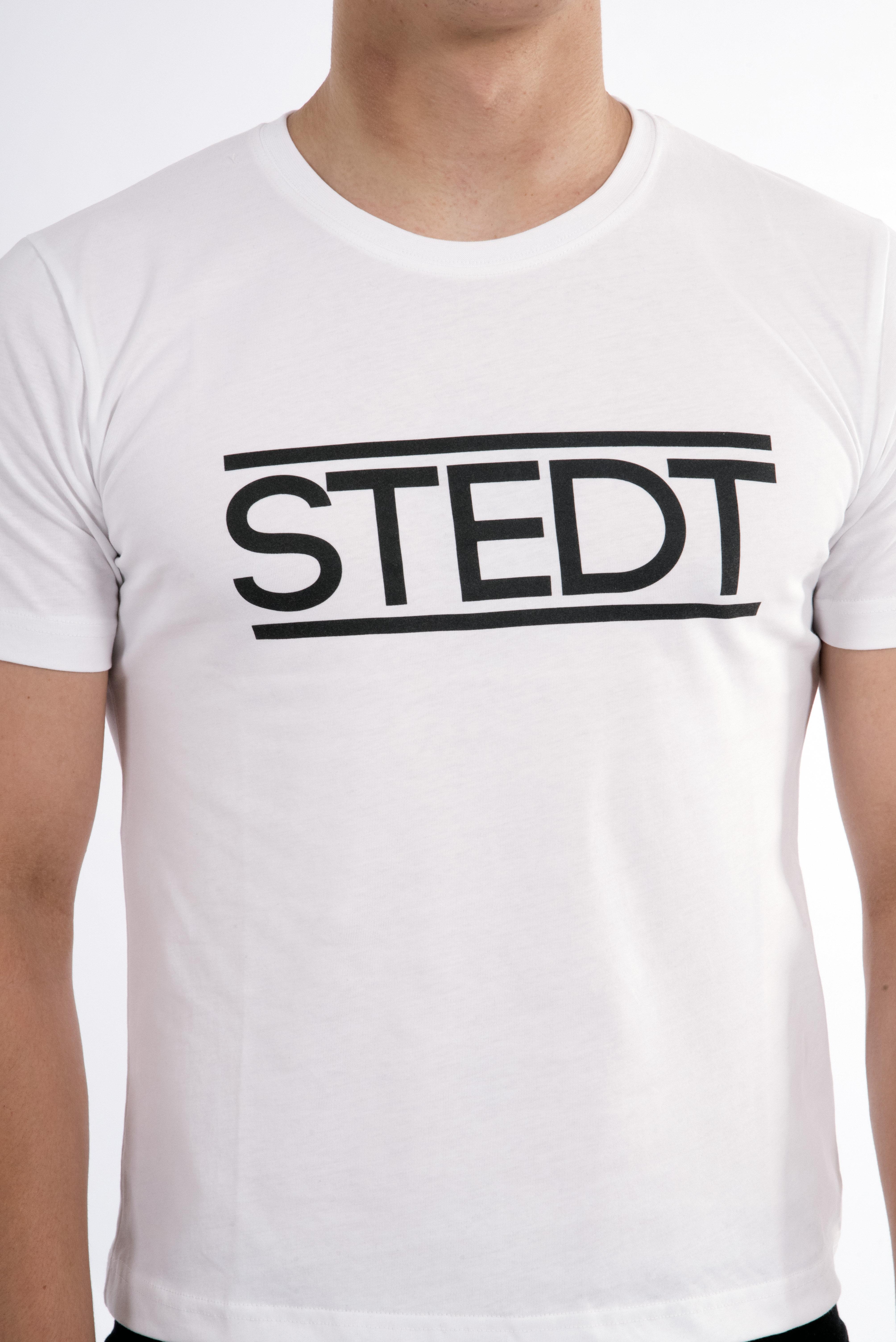 T-shirt STEDT men White